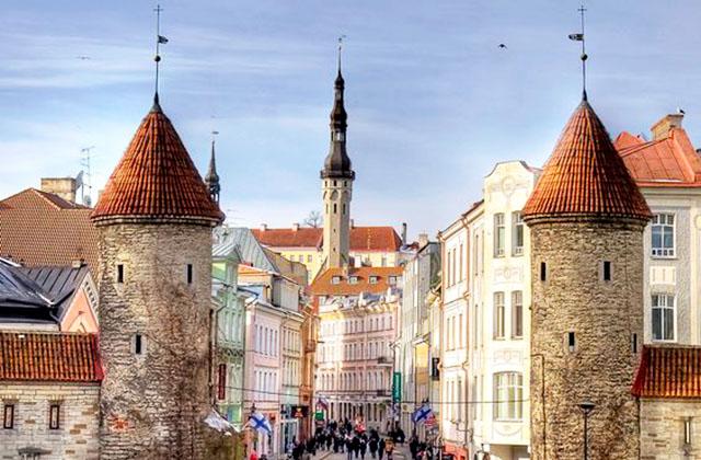 Таллин - Стокгольм - Рига