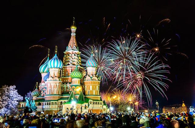 Рождественский тур в Москву