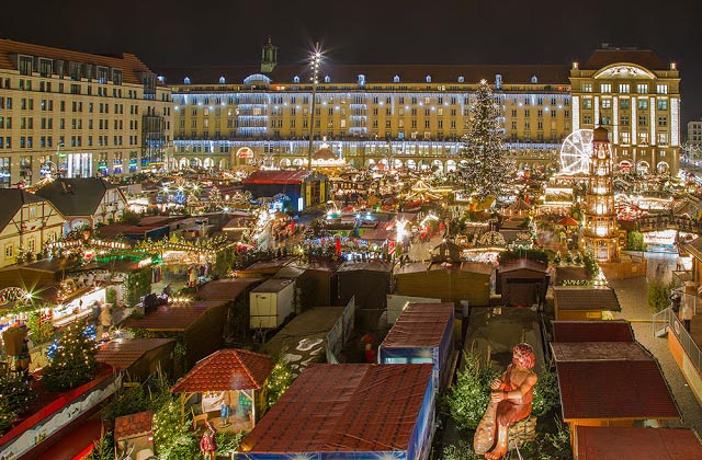 Christmas Market of Dresden, Germany 2