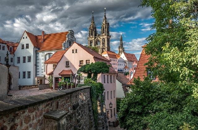 Осень в Дрездене