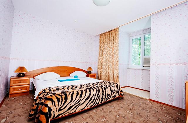 Курорт Затока, гостиничный комплекс Солнечная