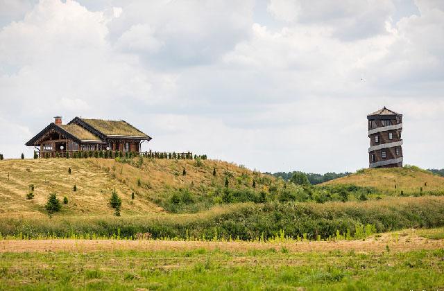 Парк Диприз, усадьба Литовка и Несвижский замок